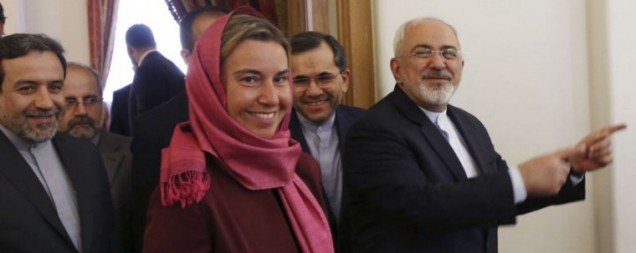 MOGHERINI HEADSCARF IN IRAN