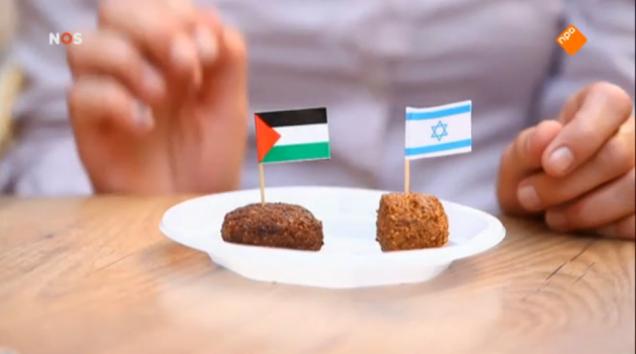 Politieke falafel: is die Israëlische niet verdacht licht en die