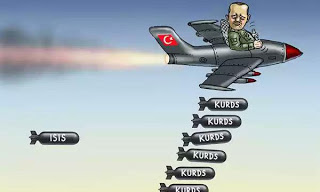 Turkey bombing Kurds (1)