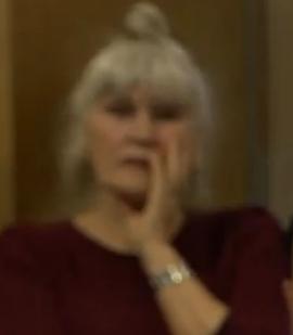 baudet-dame-op-achtergrond